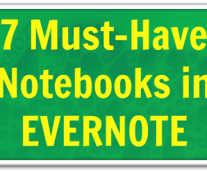 7 Evernote Notebooks You May Not Know About