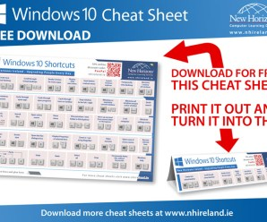The Ultimate Windows 10 Cheat Sheet: Everything you need to know