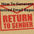 How To Generate A Report For Bounced Email Messages in GMail?