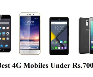 Top 5 Best 4G Mobiles Under Rs.7000 In India