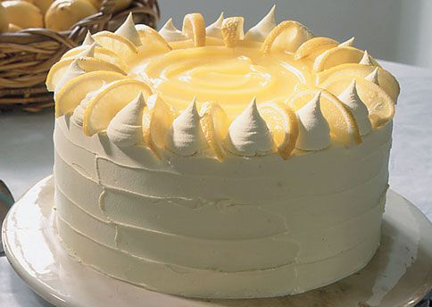 LEMON CURD LAYER CAKE WITH WHITE CHOCOLATE BUTTERCREAM