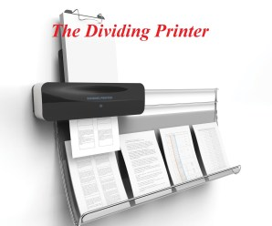 An Overview Of The Dividing Printer – A New Type of Printing Innovation
