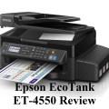 A Simple Review On Epson EcoTank ET-4500 Wireless Printer