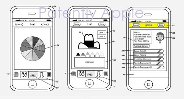 apple patents avatar creation