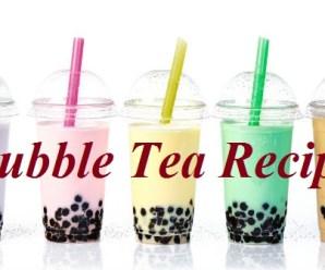 Healthy Homemade Bubble Tea Recipe