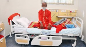 Prahlad Jani In Hospital