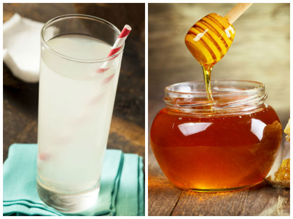 Coconut Water with Honey
