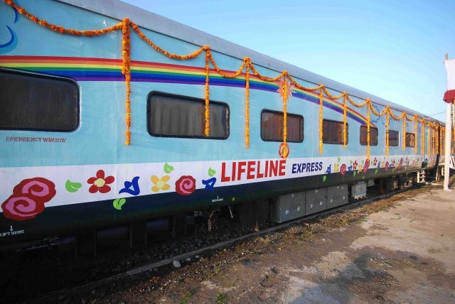 India Lifeline Express Train