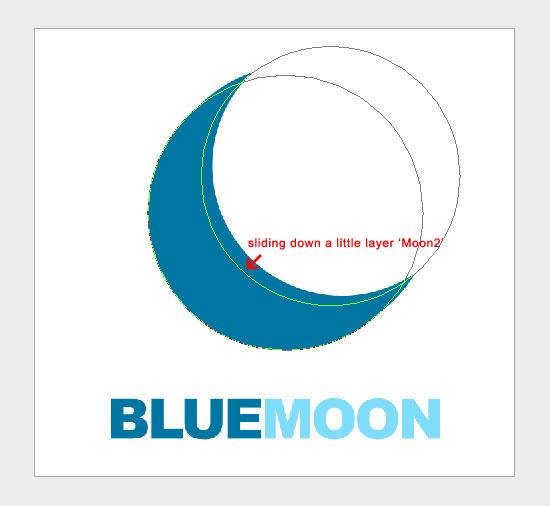 Sliding Blue Moon Layer