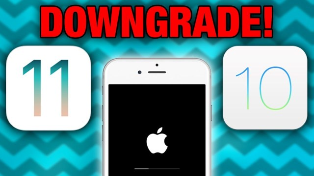 Downgrade iOS 11 Beta to iOS 10