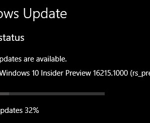 Windows 10 Build 16215 For PC With Updated Features