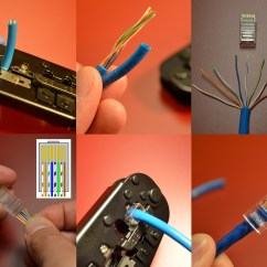 Cat5 Rj45 Wiring Diagram Amana Furnace Blower How To Crimp Your Own Ethernet Cable Of Any Length