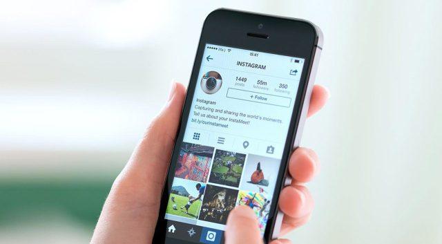 upload photos to Instagram