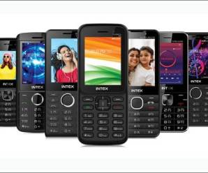 Intex Launches 4G-VoLTE And 2G Feature Phones Starting At Rs.700