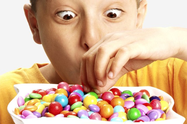 Sugar makes children hyperactive