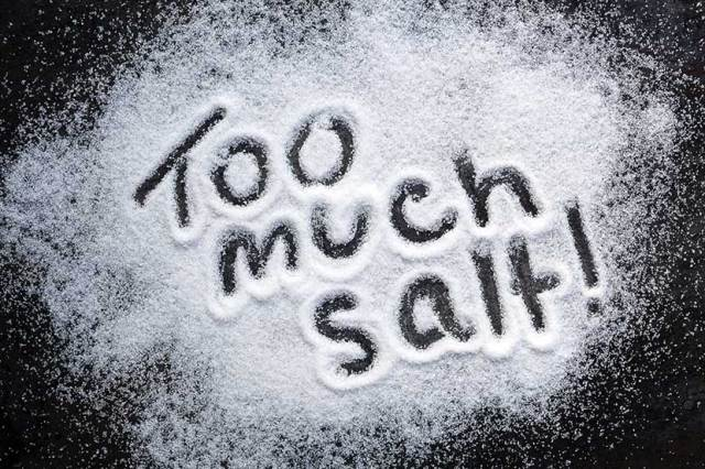 salt increases blood pressure
