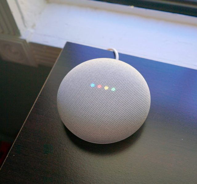 Google Home Mini Volume Adjustment