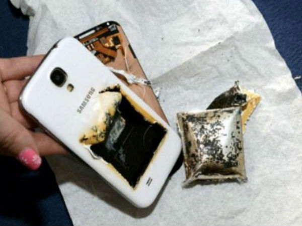 Battery Explosion