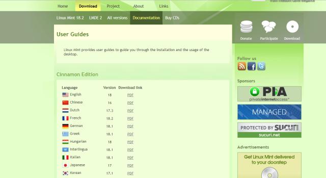 Linux-Mint-Download-languages