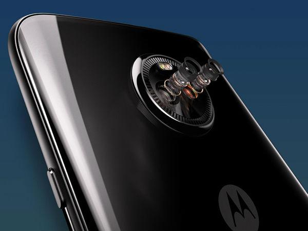 Moto X4 Dual Rear Camera