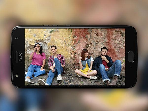 Moto X4 Front Camera Selfie Portrait mode