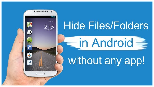 Hide File and folder