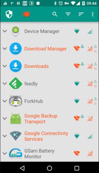 Internet Data manager