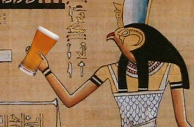 Ancient Egyptian beer