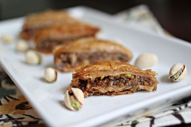 Milk Cake Baklava Recipe