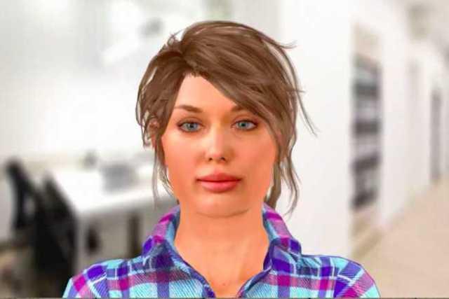 Russian Vera Robot for Interviews