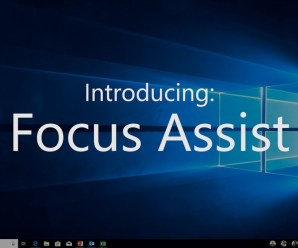 How to Use Focus Assist in Windows 10 – April 2018 Windows Update