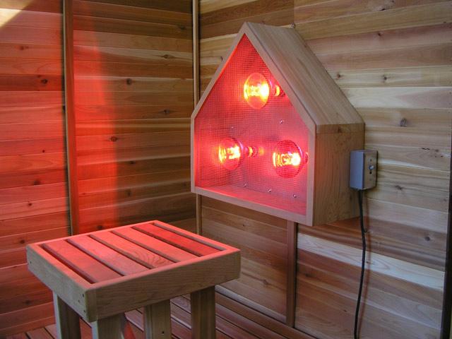 infrared_light_in_a_sauna