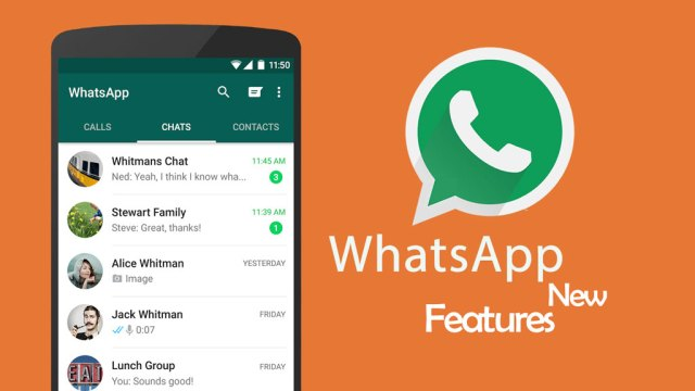 New Features in Whatsapp