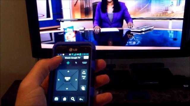 smartphone as a TV Remote