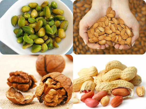 nuts at night before sleep