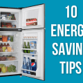 10 Best Energy Efficiency Tips for your Refrigerator