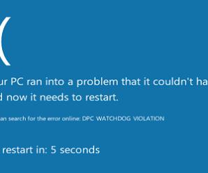 Top 5 ways to fix dpc watchdog violation Windows 10, 8.1, 8