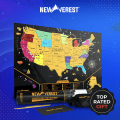 The Newverest Scratch Off Map: Start On Your Bucket List Today