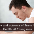 Source and outcome of stress in the health of young men