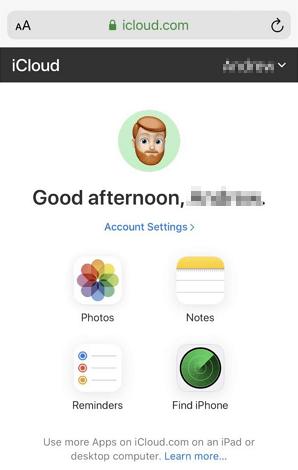 iphone Photo backup Option