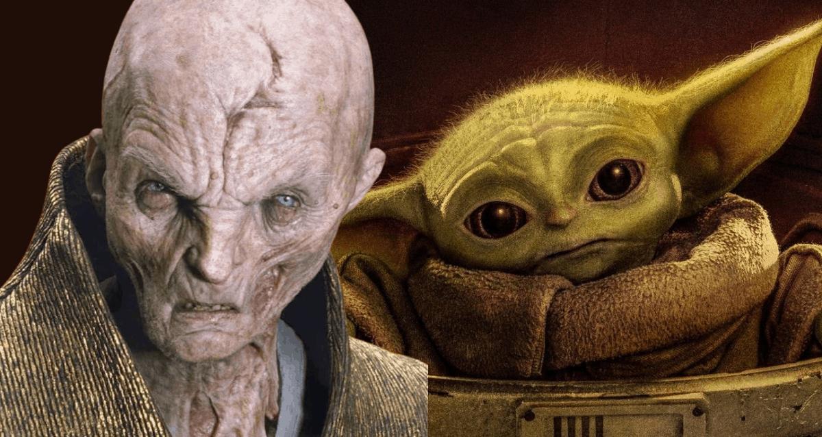 Snoke And Baby Yoda