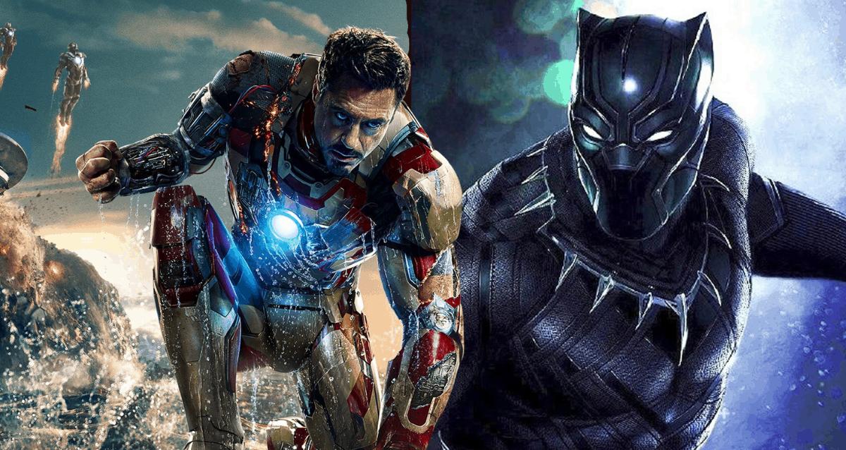 Iron Man and Black Panther