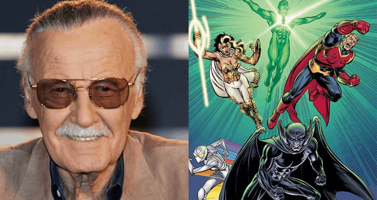 Stan Lee and Justice League