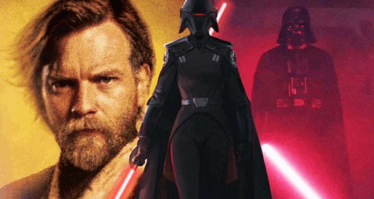Obi-Wan Kenobi and Darth Vader