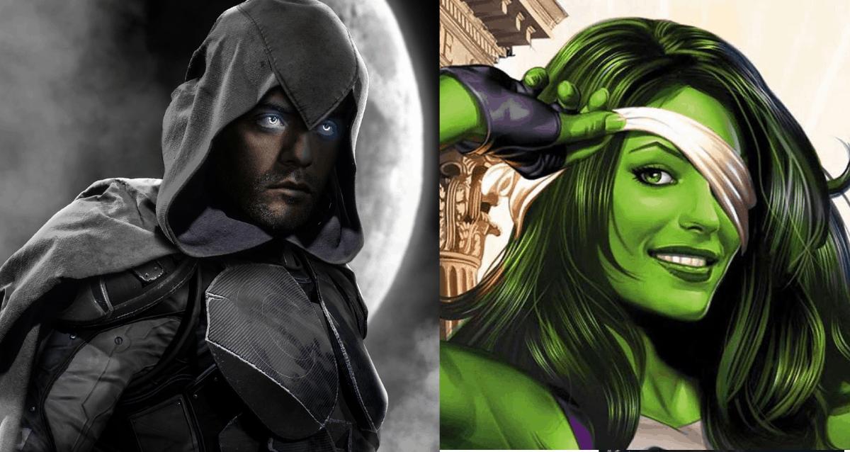 Moon knight And She-Hulk