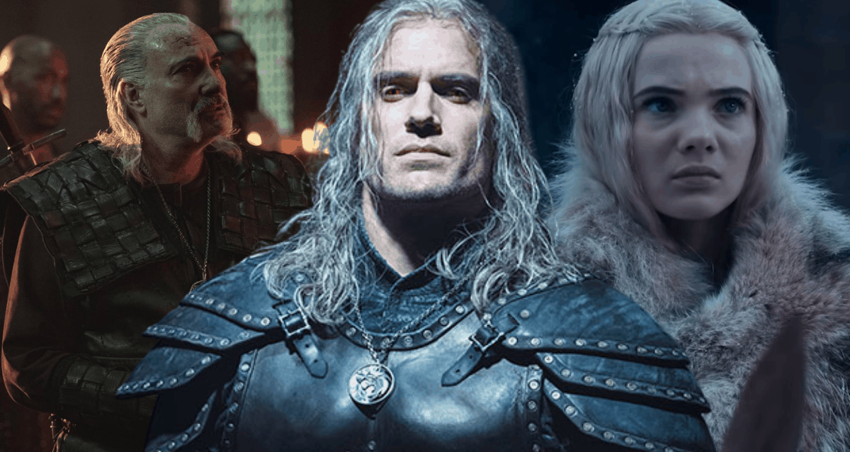 Witcher, Ciri and Vesemir