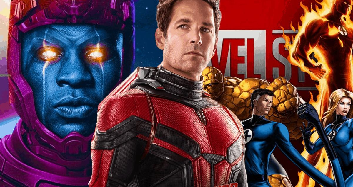 Ant Man, Kang And Fantastic Four
