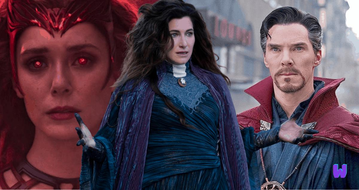 Agatha harkness, Doctor Strange, Wanda