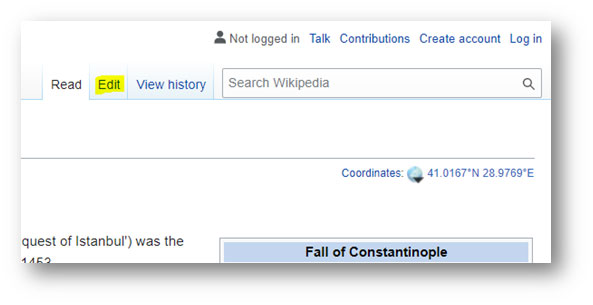 How to Create a Wikipedia Page for a Someone or a Person ...