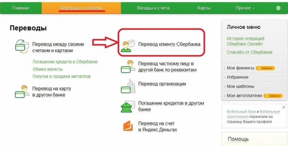 Enumerazione dei fondi sulla mappa online